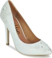 Shellys London , Brazilia Women's Court Shoes In White