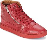 Sixth June , Devil Red Men's Shoes (high-top Trainers) In Red