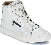 Sixth June , Parisiennes Desert Women's Shoes (high-top Trainers) In White