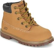 Skechers , Mecca Boys's Mid Boots In Brown
