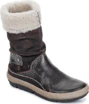 Snipe , Polight Suede Double Face Women's Mid Boots In Multicolour
