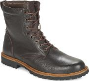 So Size , Army Men's Mid Boots In Brown
