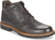 So Size , Wood Men's Mid Boots In Brown