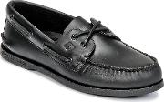 Sperry Topsider , Sperry Top-sider Ao 2-eye Men's Boat Shoes In Black