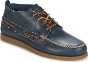 Sperry Topsider , Sperry Top-sider Ao Wedge Chukka Leather Men's Mid Boots In Blue
