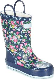 Start Rite , Posy Puddle Girls's Wellington Boots In Blue