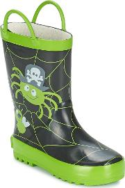 Start Rite , Spider Glow Boys's Wellington Boots In Multicolour
