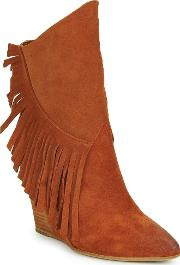 Strategia , Frangio Women's Low Ankle Boots In Brown
