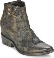 Strategia , Xiot Women's Low Ankle Boots In Grey