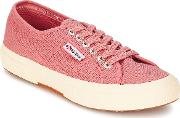 Superga , 2750 Classic Women's Shoes (trainers) In Pink