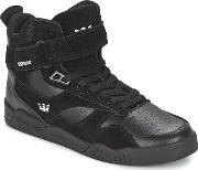 Supra , Bleeker Men's Shoes (high-top Trainers) In Black