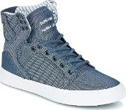 Supra , Skytop Women's Shoes (high-top Trainers) In Blue