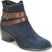 Tamaris , Candal Women's Low Ankle Boots In Blue