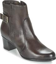 Tamaris , Donala Women's Low Ankle Boots In Brown