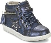 Tom Tailor , Adiadine Girls's Shoes (high-top Trainers) In Blue