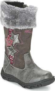 Tom Tailor , Glinoude Girls's High Boots In Grey