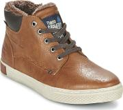 Tom Tailor , Quitina Men's Shoes (high-top Trainers) In Brown