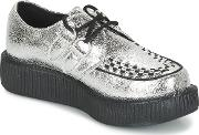 Tuk , Mondo Lo Women's Casual Shoes In Silver