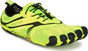 Vibram Fivefingers , V-run Men's Running Trainers In Yellow
