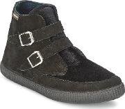 Victoria , 16705 Women's Shoes (high-top Trainers) In Black