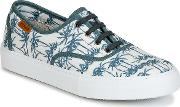 Victoria , Ingles Estamp Tropical Women's Shoes (trainers) In White