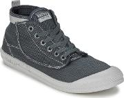 Volley , High Leap Men's Shoes (high-top Trainers) In Grey