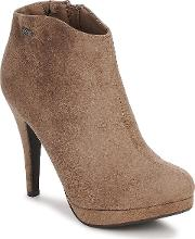 Xti , Platform Boot Women's Low Ankle Boots In Brown