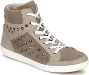Yurban , Altouve Women's Shoes (high-top Trainers) In Brown