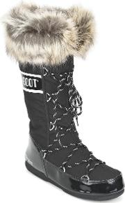 Moon Boot , W.e. Monaco Women's Snow Boots In Black