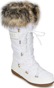 Moon Boot , W.e. Monaco Women's Snow Boots In White