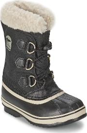 Sorel , Yoot Pac Nylon Girls's Snow Boots In Black