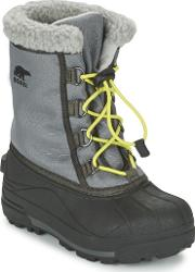 Sorel , Youth Cumberland Girls's Snow Boots In Grey