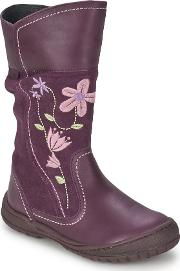 Start Rite , Picturesque Girls's High Boots In Purple