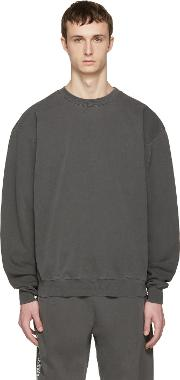 Noon Goons , Grey Cotton Simple Pullover