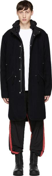 Tim Coppens , Navy Wool Parka