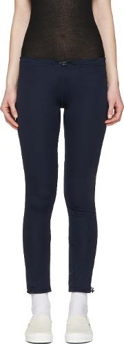 And Wander , Navy Dry Lounge Pants