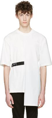 D By D , White Back Tape T Shirt