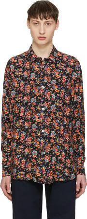 Our Legacy , Multicolor Flower Shirt