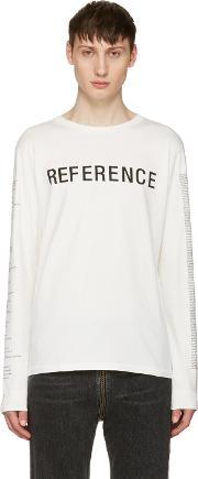 Yang Li , White Reference T Shirt