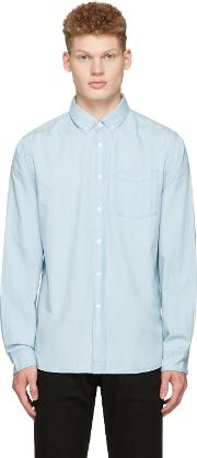 Saturdays Nyc , Indigo Denim Crosby Shirt