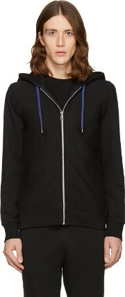Ps By Paul Smith , Black Cotton Hoodie