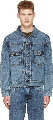 Saturdays Nyc , Blue Denim Ray Jacket