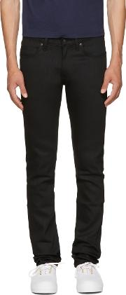 Naked And Famous Denim , Black Super Skinny Guy Jeans