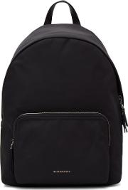 Burberry , Black Nylon Abbeydale Backpack