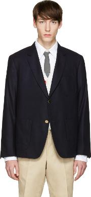 Icon , Navy Sack Whale  Blazer