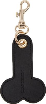 Jw Anderson , J.w. Anderson Black Penis Keychain