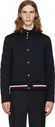 Moncler Gamme Bleu , Navy Down Quilted Jacket