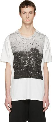 Nudemm , Nude Mm Off White Rain T Shirt