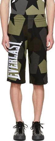 Ports 1961 , Brown Everlast Edition Stars Shorts