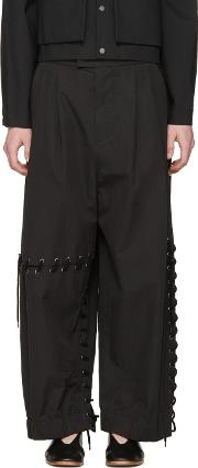 Craig Green , Black Laced Trousers